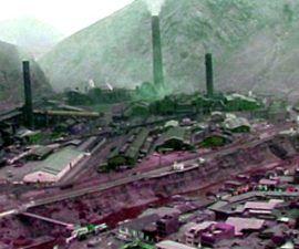 La contaminacion en La Oroya es muy fuerte