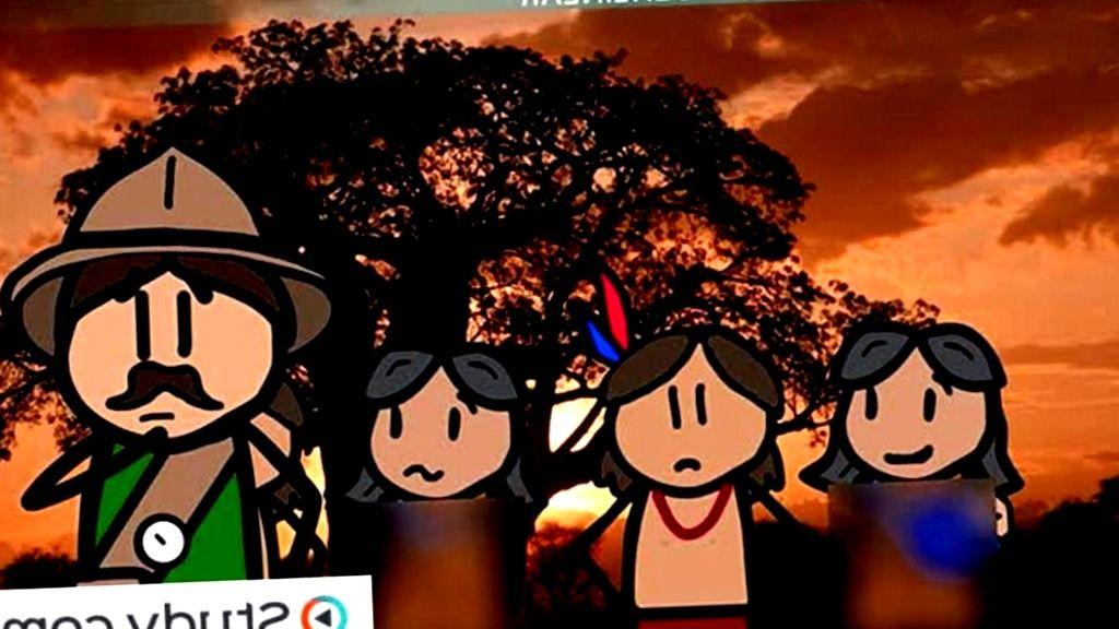 Colores Verdaderos - paleoantropologia - antropologia cultural del paraguay