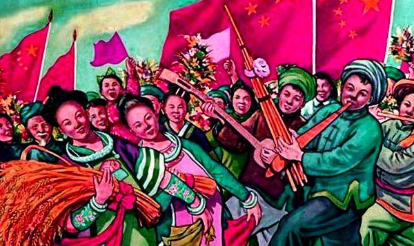 Los gruposm etnicos chinos son estudiados por la antropologia china