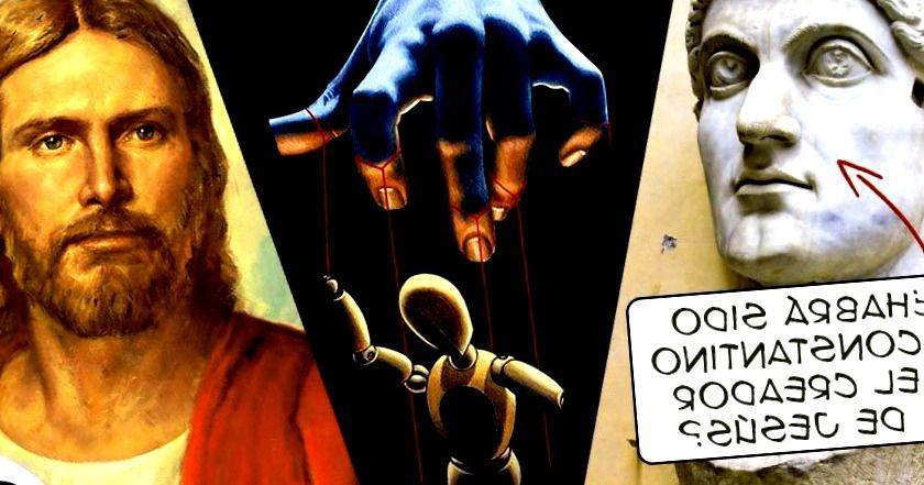 Jesus y constantino invencion de dios