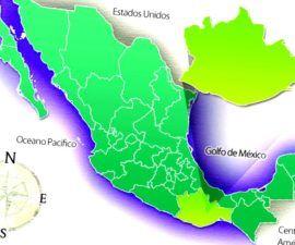 Oaxaca es un estado sureño en mexico