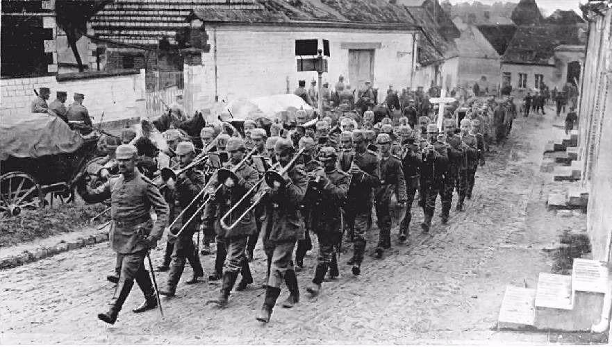 Apodos Aplicados a los Soldados Alemanes en la Primera Guerra Mundial - antropologia-cultural - soldadosalemanes