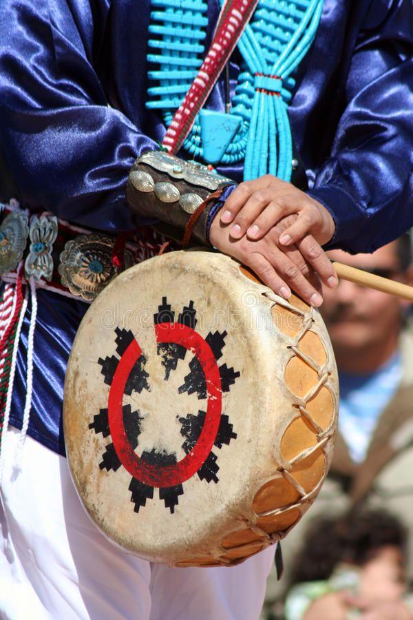 Estados Unidos es un pais de tambores de las tribus indigenas