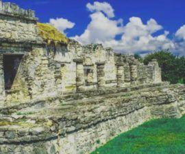 Tulum sitio marqueologico maya patrimonio cultural de mexico