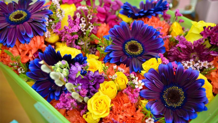 Entrega multicultural de flores en Londres