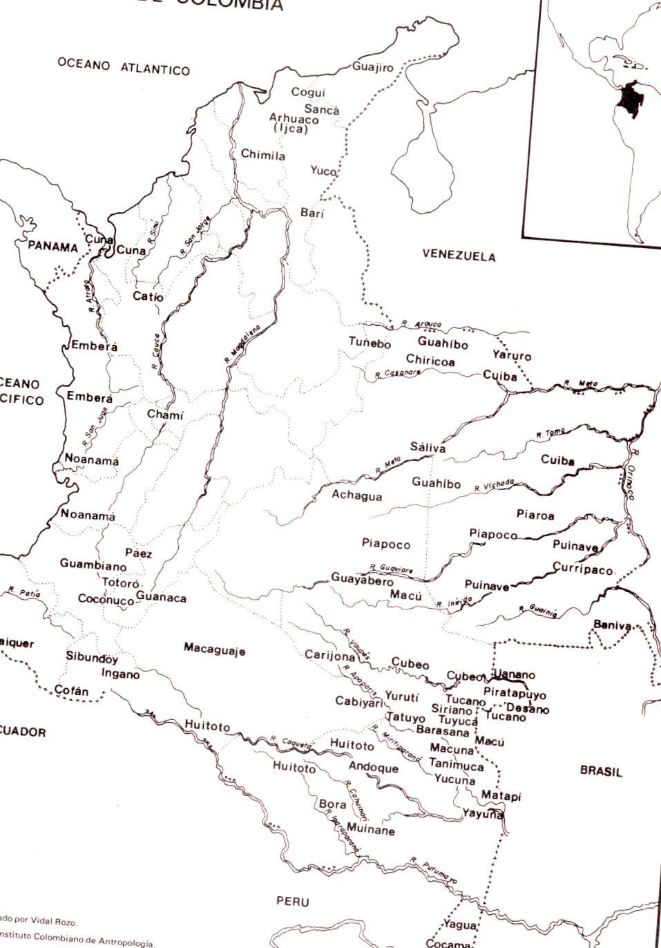 Antropologia en Colombia