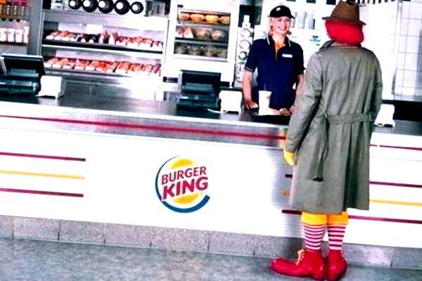 trabajar en macdonalds o burger king